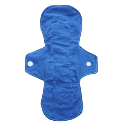 Cotton reusable sanitary pad - Front