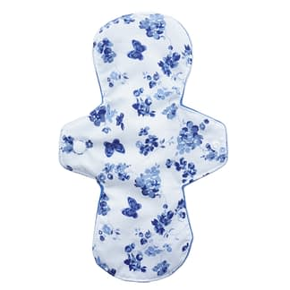 Cotton reusable sanitary pad - Butterflies and blooms