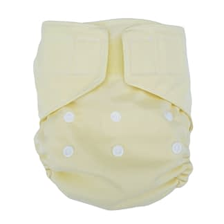 Pocket Nappy in soft yellow