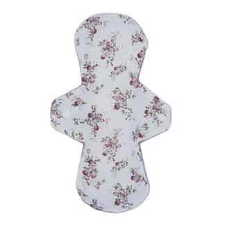 Reusable sanitary pad in vintage rose