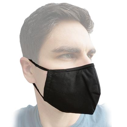 Face mask - Pocket - Black